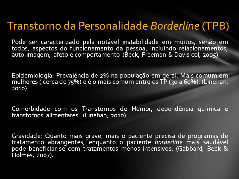 Transtorno da Personalidade Borderline (TPB)