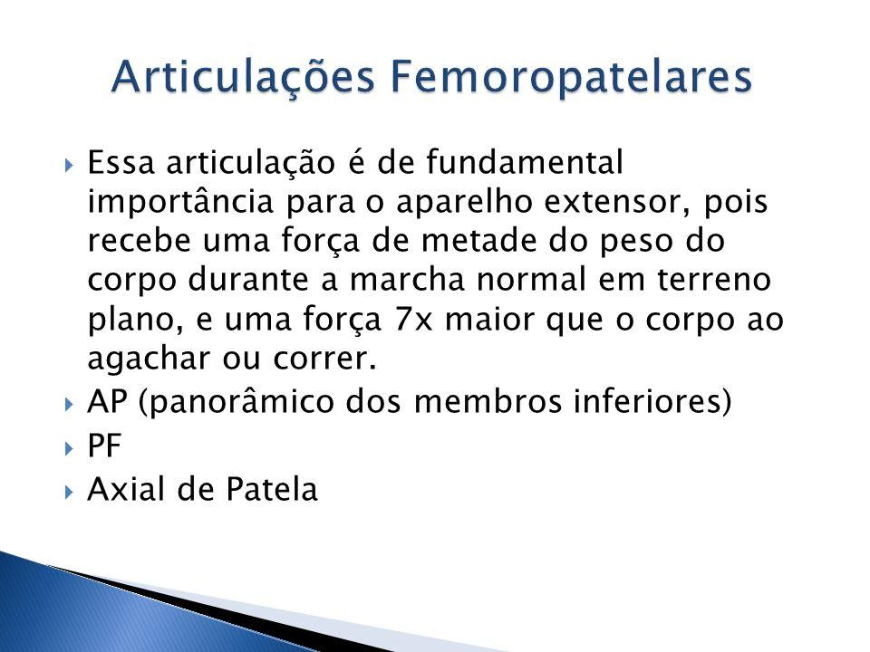 Articulações Femoropatelares