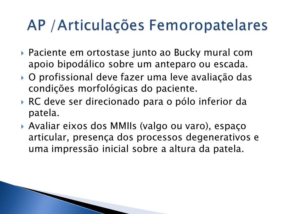 AP /Articulações Femoropatelares