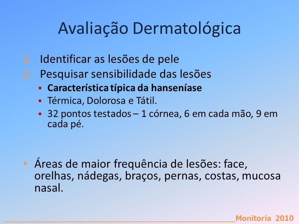 Avaliação Dermatológica