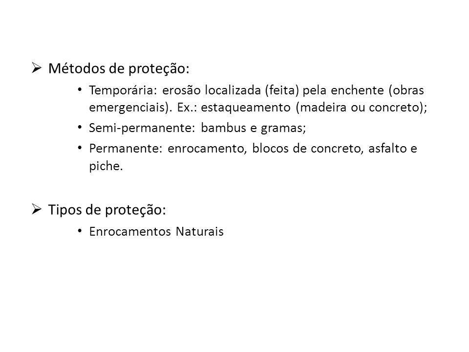 Métodos de proteção: Tipos de proteção: