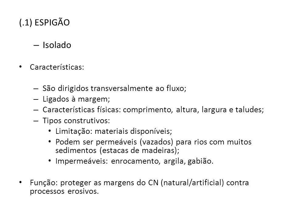 (.1) ESPIGÃO Isolado Características: