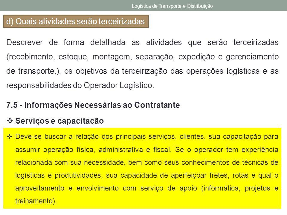 Logística de Transporte e Distribuição