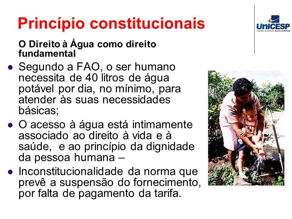 Princípio constitucionais