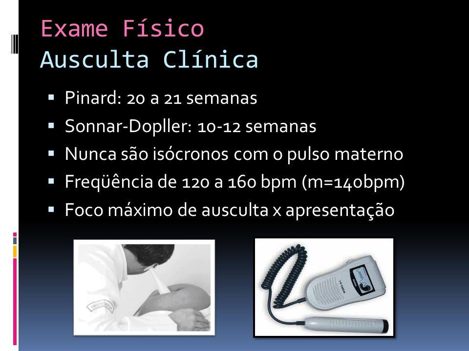 Exame Físico Ausculta Clínica