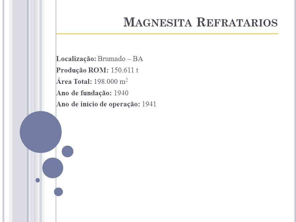 Magnesita Refratarios