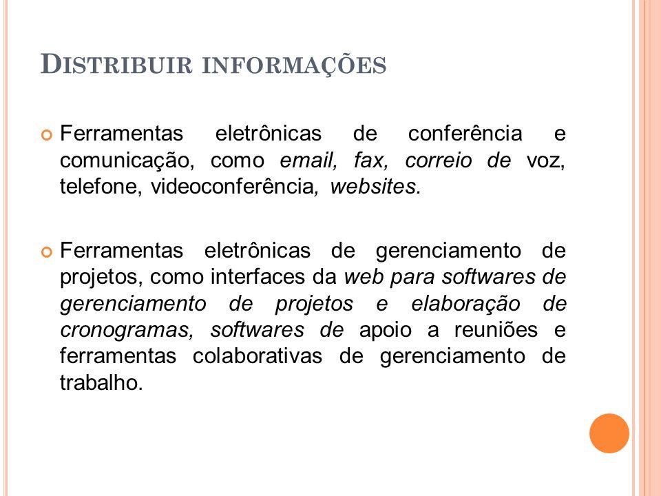 Distribuir informações