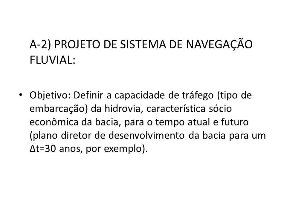 A-2) PROJETO DE SISTEMA DE NAVEGAÇÃO FLUVIAL: