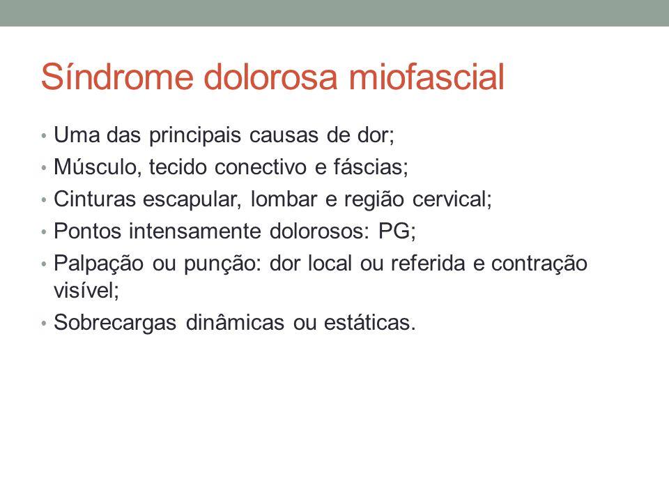 Síndrome dolorosa miofascial