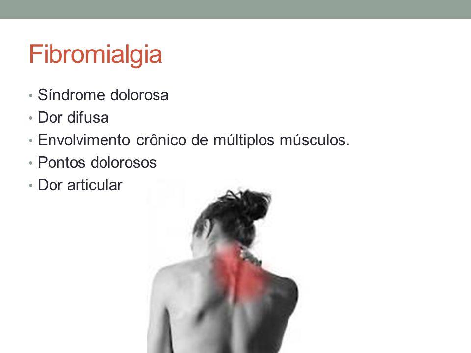Fibromialgia Síndrome dolorosa Dor difusa