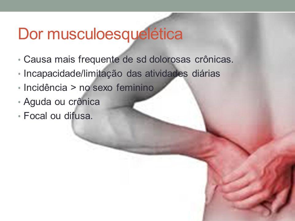 Dor musculoesquelética