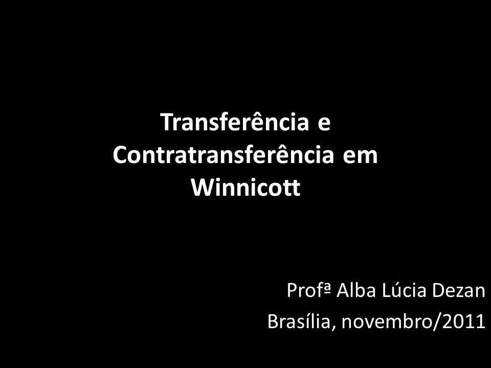 Transferência e Contratransferência em Winnicott
