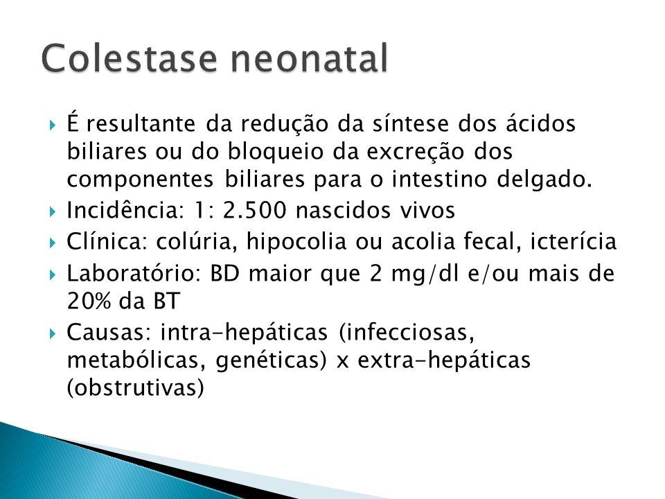 Colestase neonatal
