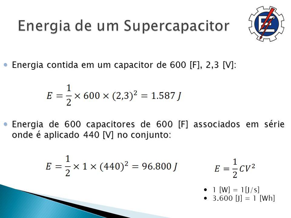 Energia de um Supercapacitor