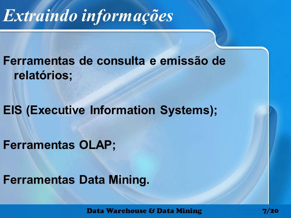 Extraindo informações