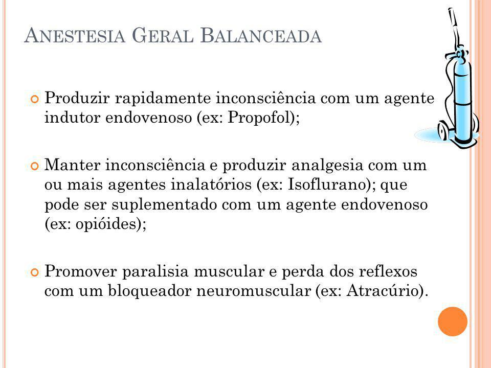 Anestesia Geral Balanceada