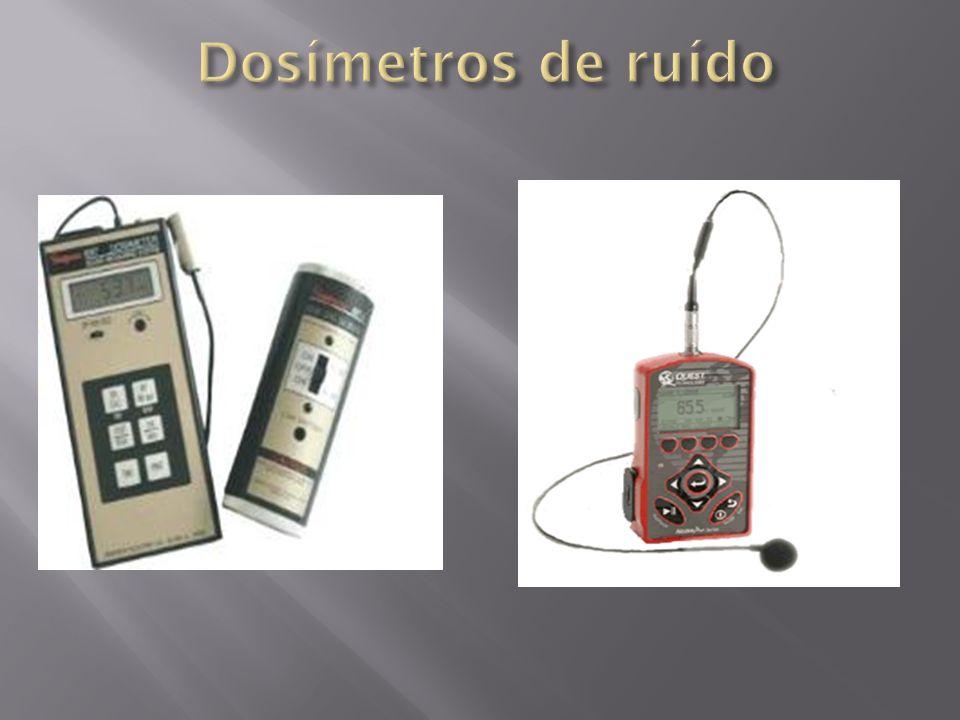 Dosímetros de ruído