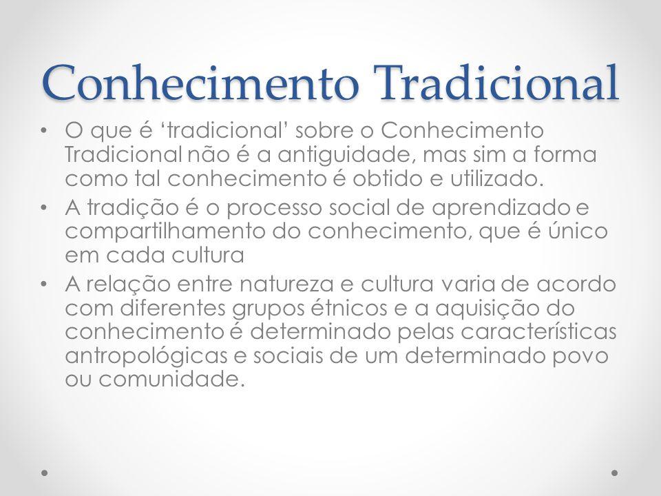 Conhecimento Tradicional