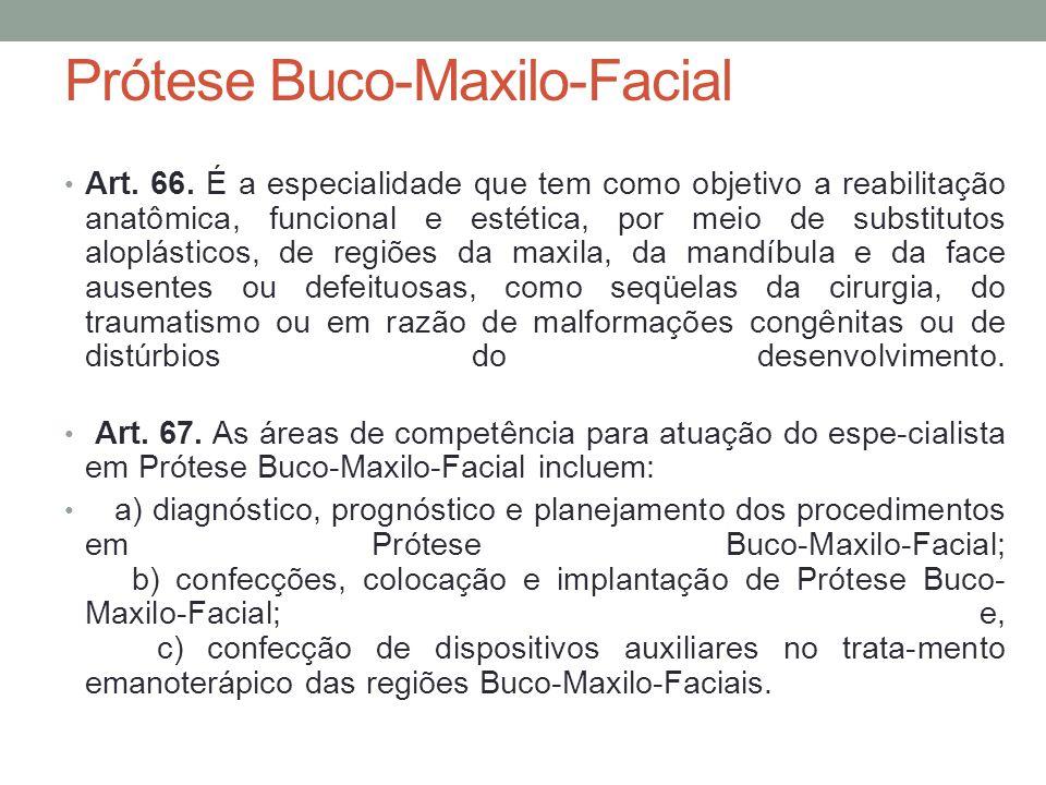 Prótese Buco-Maxilo-Facial
