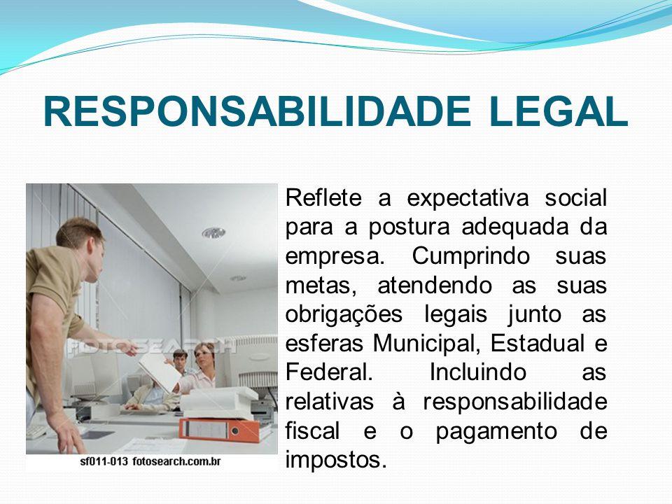 RESPONSABILIDADE LEGAL