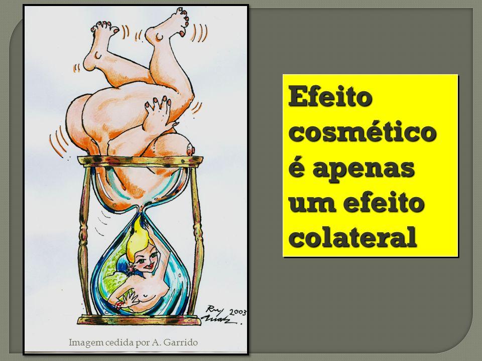Efeito cosmético é apenas um efeito colateral