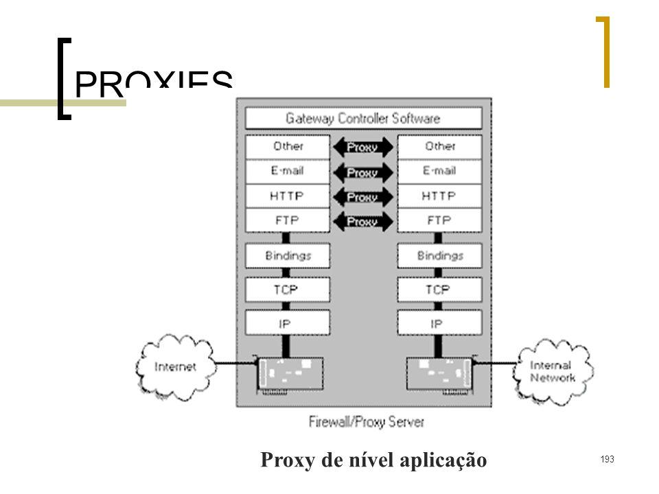 Proxy de nível aplicação