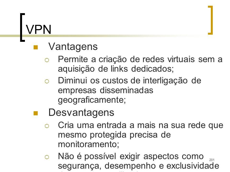 VPN Vantagens Desvantagens