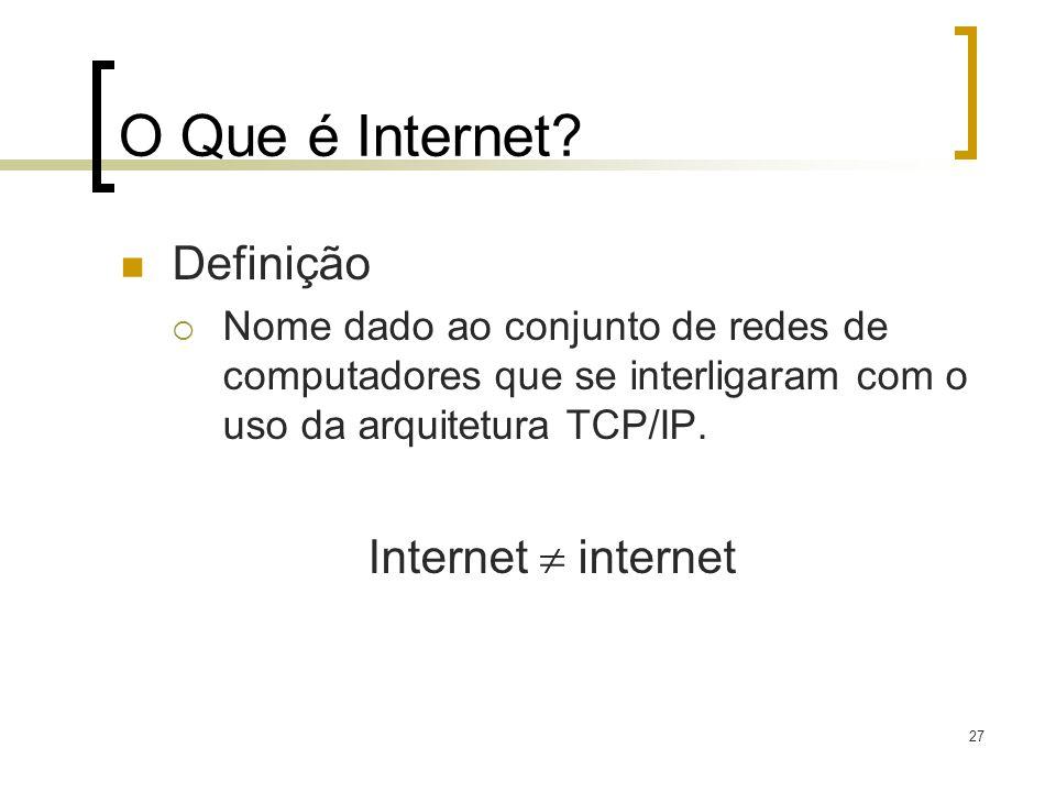 O Que é Internet Definição Internet  internet