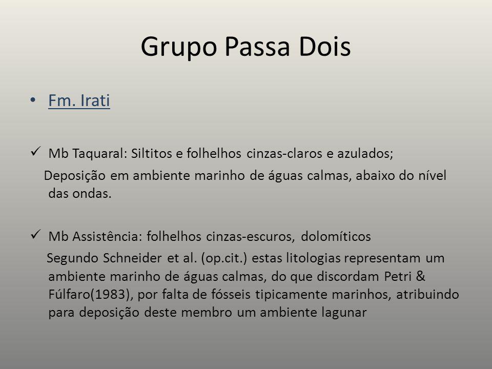 Grupo Passa Dois Fm. Irati