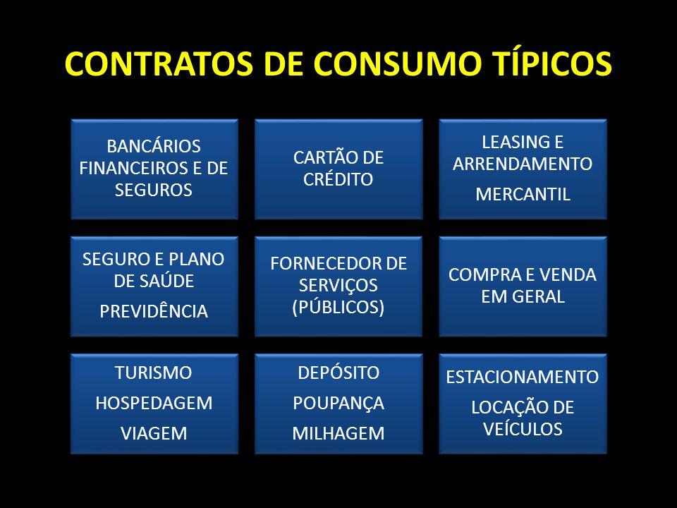 CONTRATOS DE CONSUMO TÍPICOS