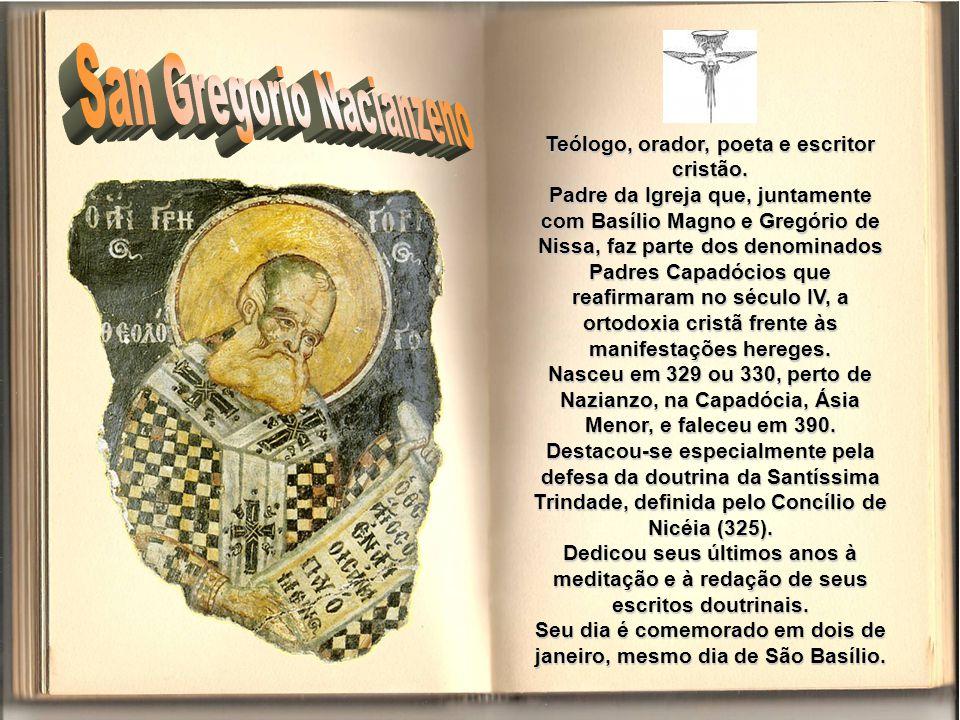 San Gregorio Nacianzeno