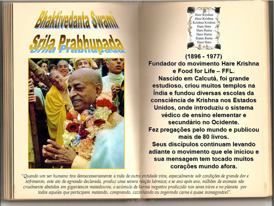 Bhaktivedanta Swami Srila Prabhupada