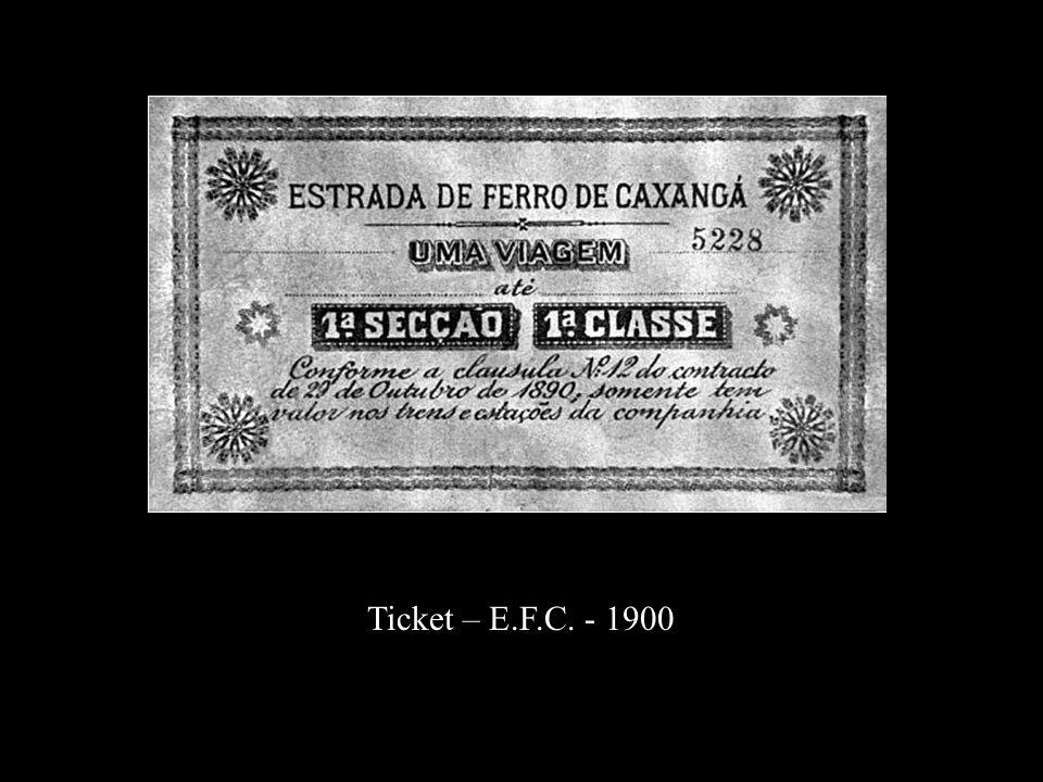 Ticket – E.F.C. - 1900