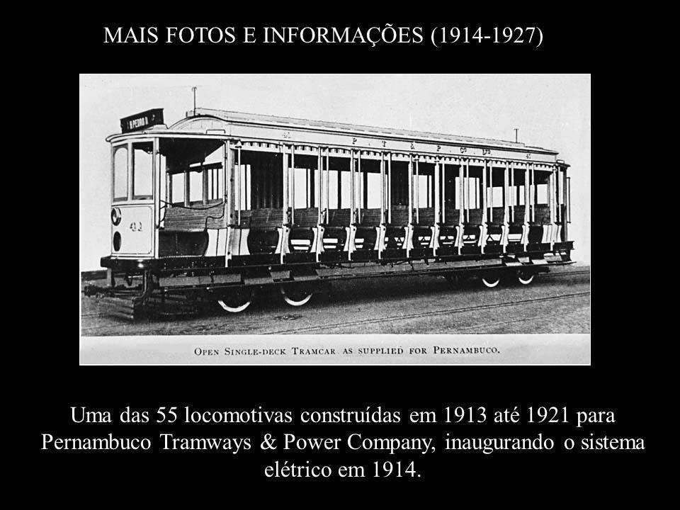 MAIS FOTOS E INFORMAÇÕES (1914-1927)