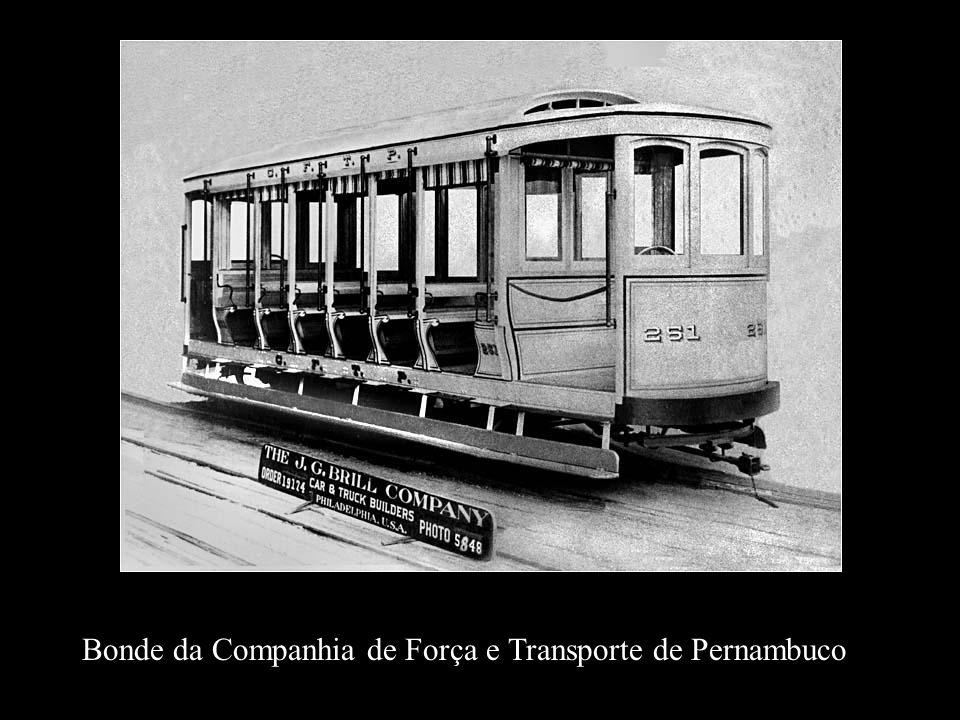 Bonde da Companhia de Força e Transporte de Pernambuco