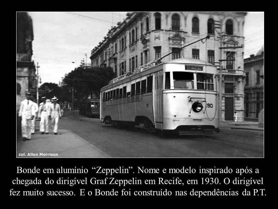 Bonde em alumínio Zeppelin