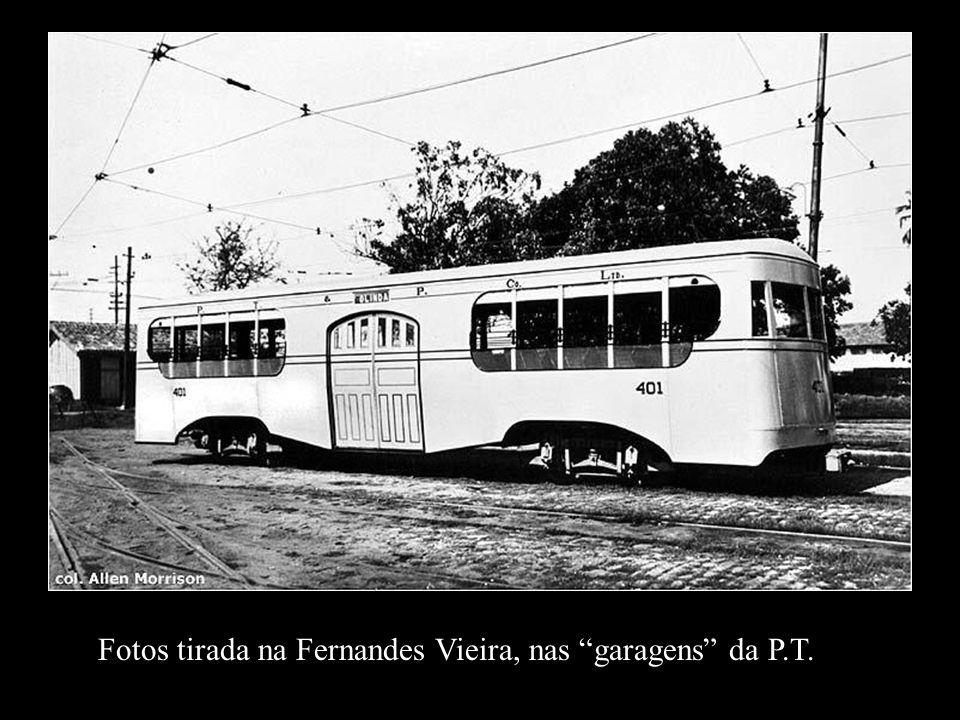 Fotos tirada na Fernandes Vieira, nas garagens da P.T.