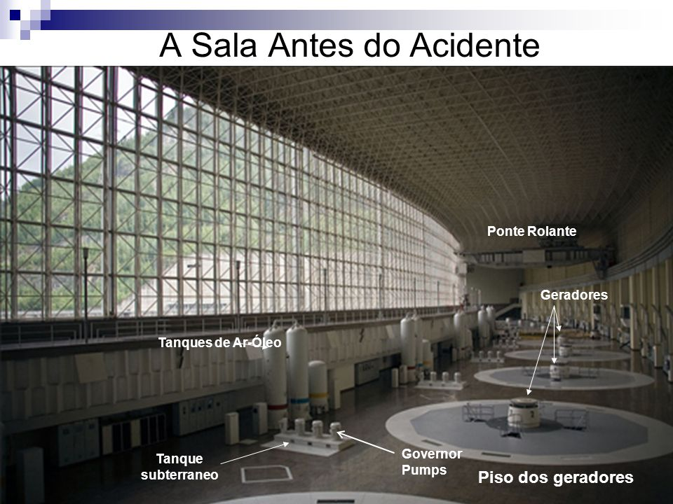 A Sala Antes do Acidente