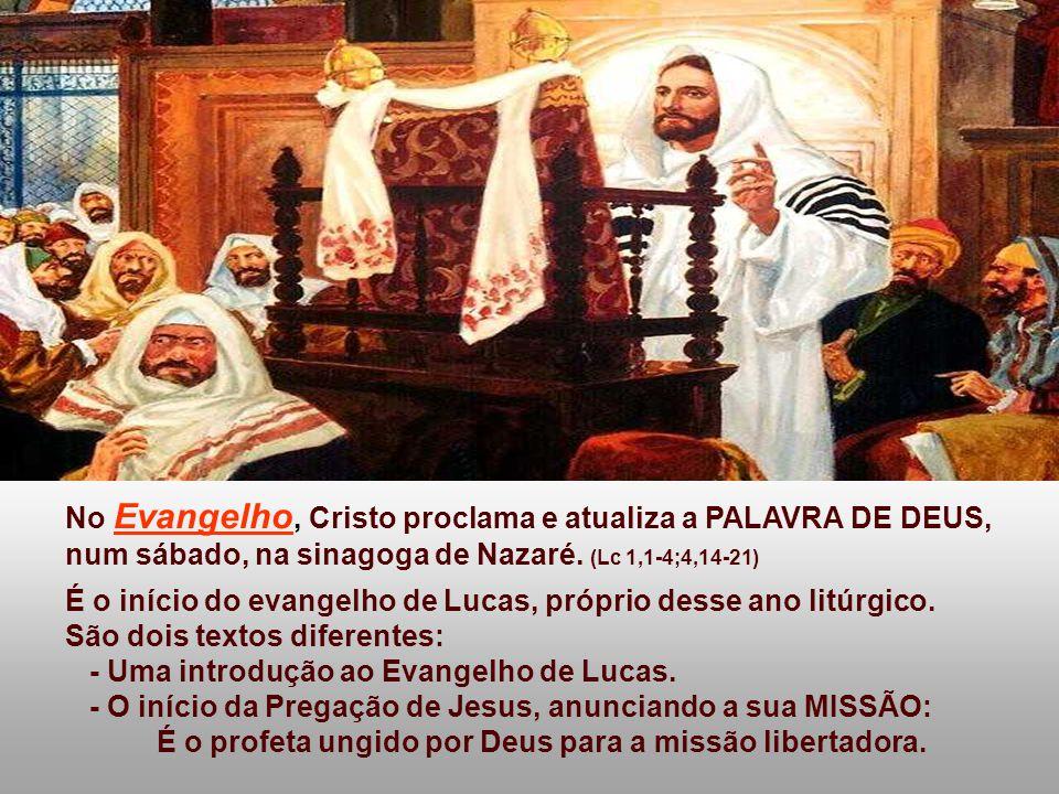 É o profeta ungido por Deus para a missão libertadora.