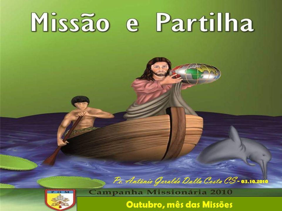 Outubro, mês das Missões