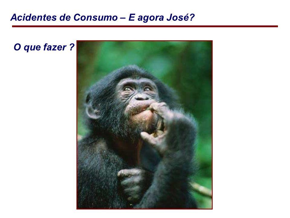 Acidentes de Consumo – E agora José