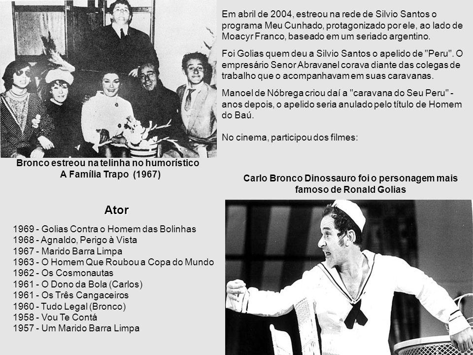 Em abril de 2004, estreou na rede de Silvio Santos o programa Meu Cunhado, protagonizado por ele, ao lado de Moacyr Franco, baseado em um seriado argentino.