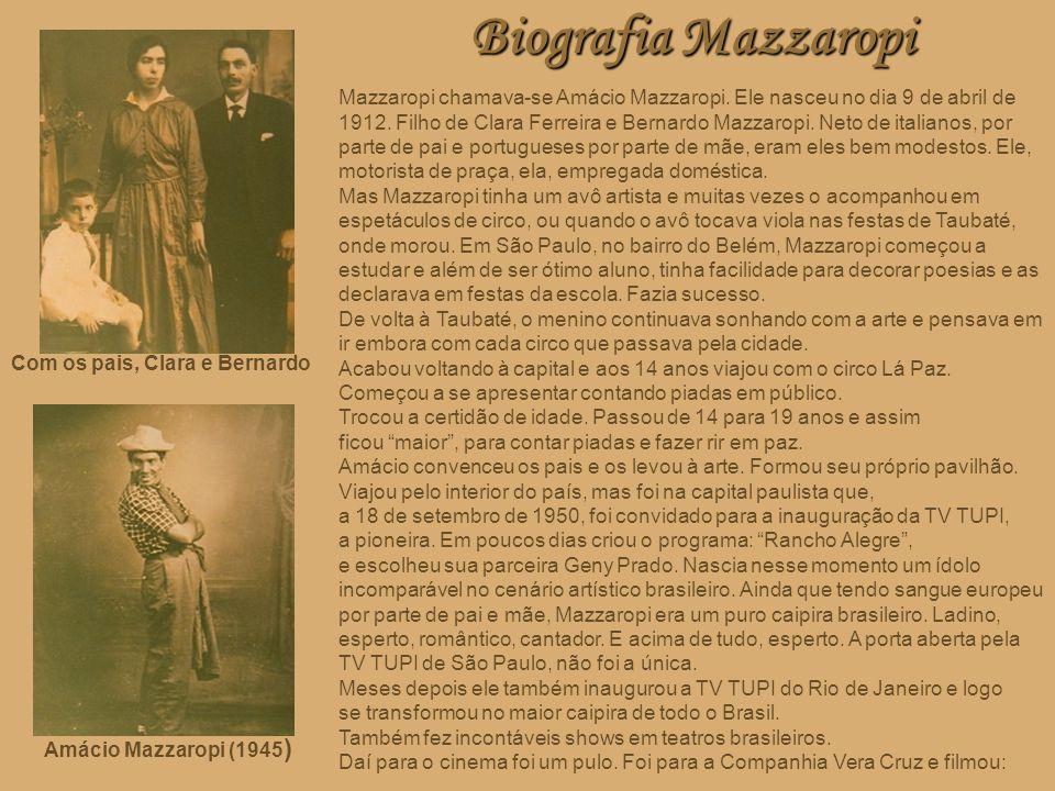 Biografia Mazzaropi