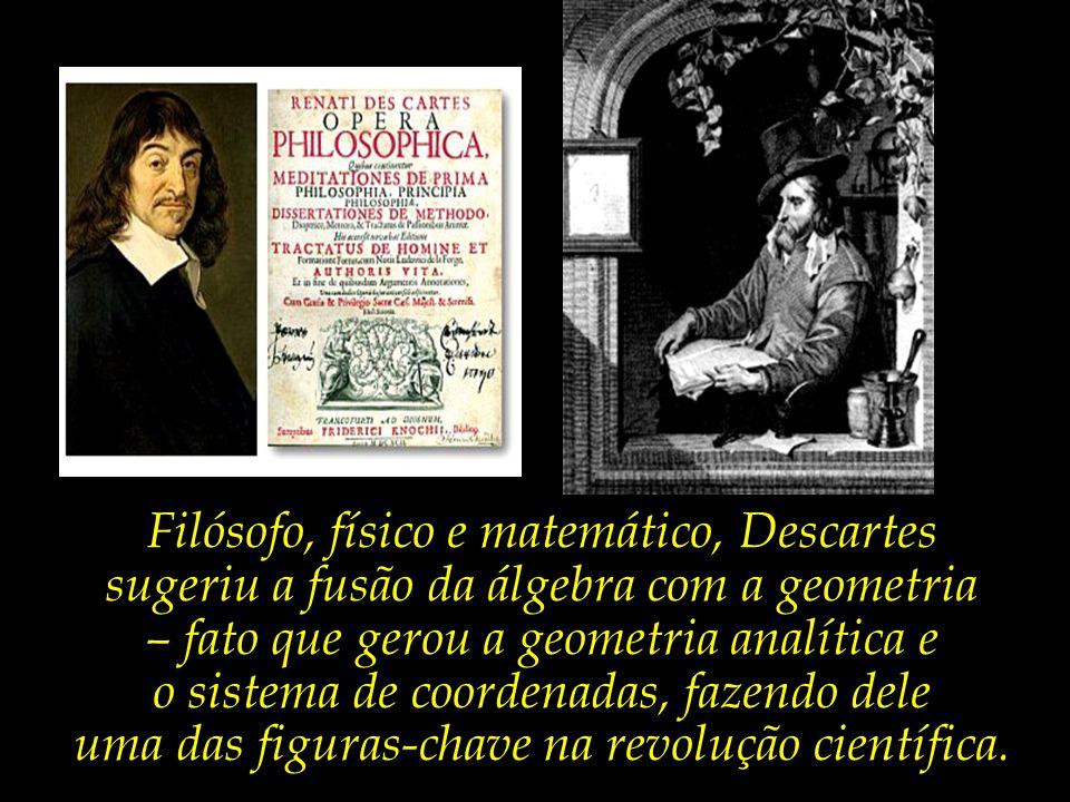 Filósofo, físico e matemático, Descartes