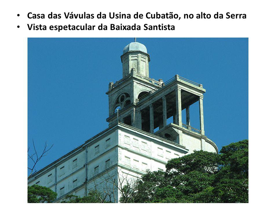 Casa das Vávulas da Usina de Cubatão, no alto da Serra