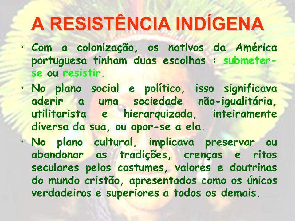 A RESISTÊNCIA INDÍGENA