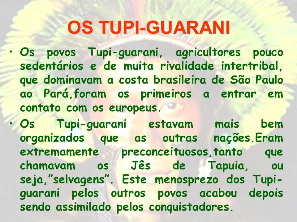 OS TUPI-GUARANI