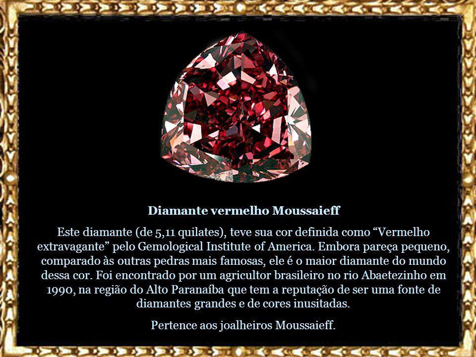 Diamante vermelho Moussaieff