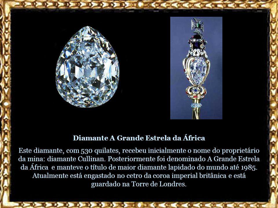 Diamante A Grande Estrela da África