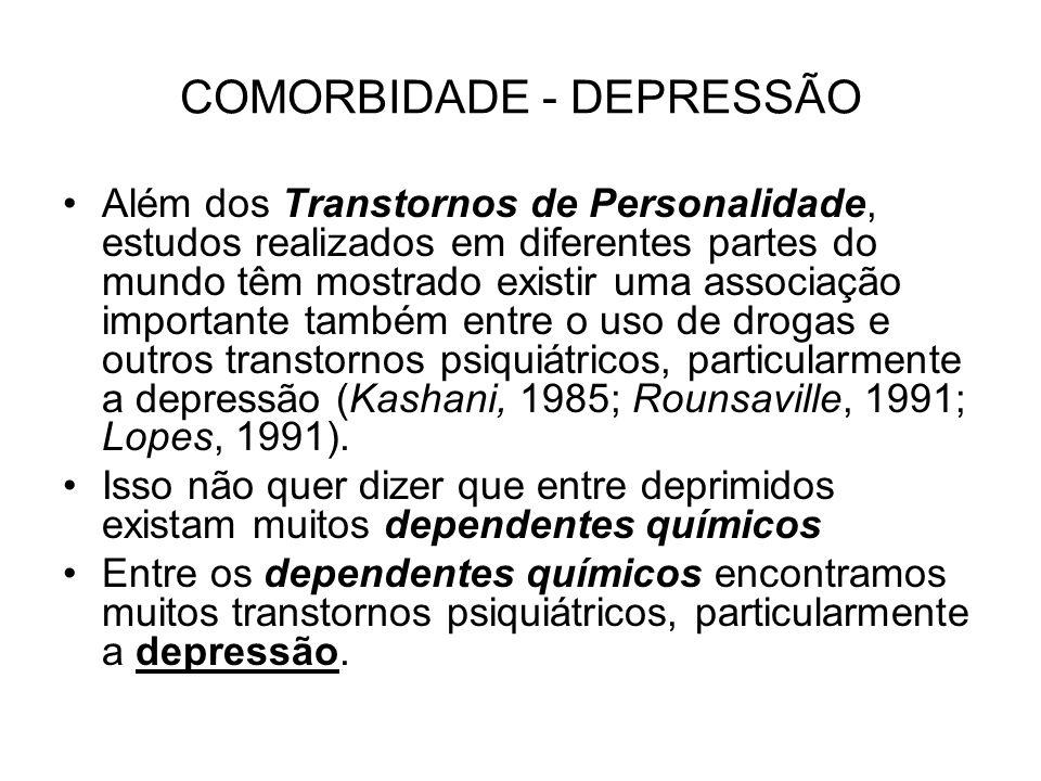 COMORBIDADE - DEPRESSÃO